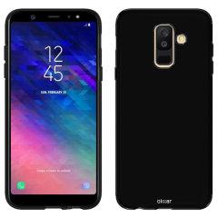 Fabriquée sur mesure pour votre Samsung Galaxy A6 Plus en coloris noir, la coque Olixar FlexiShield est dotée d'une conception robuste en gel et offre une excellente protection à votre smartphone au quotidien.