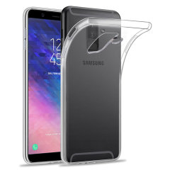 Custom moulded for the Samsung Galaxy A6 Plus 2018, this 100% clear Ultra-Thin case by Olixar provides slim fitting and durable protection against damage.
