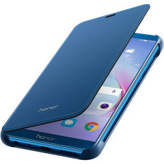 Combining an attractive, professional build with sturdy and durable protection, this official Huawei flip case in blue is the premier option for your Huawei Honor 9 Lite. Crafted from the finest materials, the case provides a sophisticated feel.