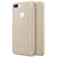 Nillkin Sparkle Huawei Honor 9 Lite Folio Case - Gold