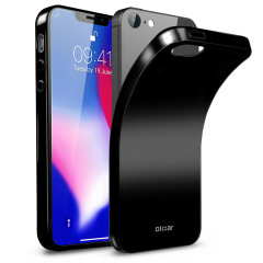 Custom moulded for the iPhone SE 2018, this black FlexiShield gel case from Olixar provides excellent protection against damage as well as a slimline fit for added convenience.
