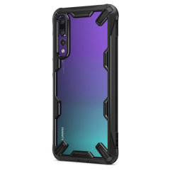 Keep your Huawei P20 Pro protected from bumps and drops with the Rearth Ringke Fusion X tough case in black. Featuring a 2-part, Polycarbonate design, this case lives up to military drop test standards so you can rest assured that your device is safe.