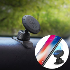 Dock your smartphone effortlessly thanks to the Ringke Magnetic Gear Car Mount Holder. Extremely easy to install and fully case compatible with two including magnetic plates. Also features a classic 'gear shift' design.
