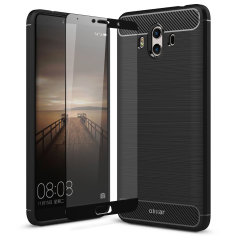 Olixar Sentinel Huawei Mate 10 Case and Glass Screen Protector