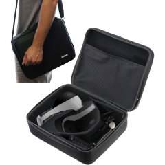 Made from a unique polyfibre design, this PlayStation VR case from Navitech provides ample protection for your PS VR. With enough room to fit all of your VR essentials and an included shoulder strap for easy transport, this bag has everything you need.