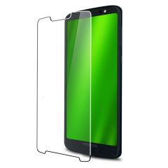 Keep your Motorola Moto G6's screen safe without compromising on sensitivity with this official tempered glass screen protector.