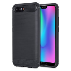 This slim, sleek case for the Huawei Honor 10 sports a smooth, tactile brushed metal and carbon fibre-effect design while also offering superior protection from surface damage.