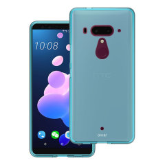 Olixar FlexiShield HTC U12 Plus Gel Hülle - Korallenblau