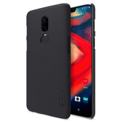 Nillkin Super Frosted OnePlus 6 Shell Case & Screen Protector - Black