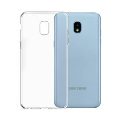 Custom moulded for the Samsung Galaxy J3 2018, this 100% clear Ultra-Thin case by Olixar provides slim fitting and durable protection against damage