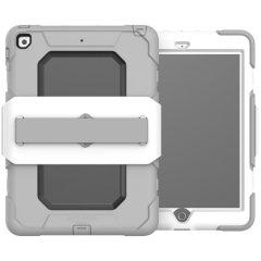 Griffin Survivor Medical iPad 9.7 2018 Tough Case - White / Grey