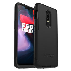 Incorporating elements from the rugged Defender Series with the skin-like Impact Series line to create a slick case in black for the OnePlus 6.