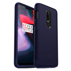 Incorporating elements from the rugged Defender Series with the skin-like Impact Series line to create a slick case in Indigo Way Blue for the OnePlus 6.
