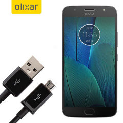This 1 meter data / charging cable from Olixar allows you to connect your Motorola Moto G5S Plus to a PC via Micro USB. It supports charging currents over 2 amps, so your Motorola Moto G5S Plus can be up and running from flat in no time.