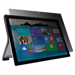 Protect your on-screen content from prying eyes with the Targus Privacy Screen Protector for the Surface Pro 4. Featuring scratch resistance, excellent sensitivity and an anti-microbial coating to protect your screen against bacteria and fungi.