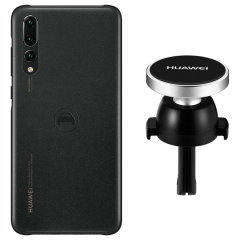 Hold your phone safely in your car while shielding it from damage with this official Huawei P20 Pro magnetic car holder / protective case combo for your Huawei P20 Pro.