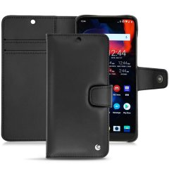 Keep your OnePlus 6 well protected from damage with this high quality, beautifully hand-crafted genuine black leather wallet case from Noreve. The perfect blend of premium style and functionality.