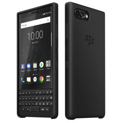 Protect your BlackBerry KEY2 smartphone while adding virtually no extra bulk with this original non-slip silicone black soft shell case.