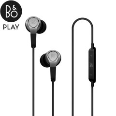The Bang & Olufsen BeoPlay H3 in-ear headphones deliver accurate, balanced sound and powerful bass for a quality listening experience. Designed to be durable and comfortable, the lightweight metal construction and soft earbuds provide excellent acoustics.