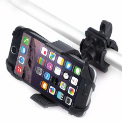 Ideal for hands-free calls or listening to your music, the Universal Adjustable Baby Stroller / Bicycle Mobile Phone Holder supports smartphones up to 3.94 inches and simply hooks onto the handlebar of your baby stroller or bicycle.