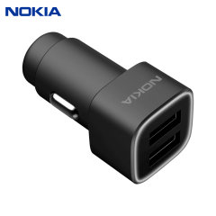 A genuine Nokia car charger for your Nokia smartphone (or any smartphone which charges via USB). Incredibly stylish and fast, this charger is a must have, thanks to its sleek design and dual USB ports.