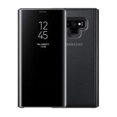 Esta funda oficial de Samsung es una excelente opción para proteger su Galaxy Note 9 sin perderse ni una sola notificación gracias a su tapa semi transparente.