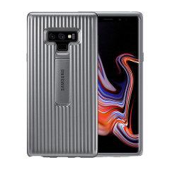 Deze officiële Protective Stand Cover Case is het perfecte accessoire voor je Galaxy Note 9-smartphone.