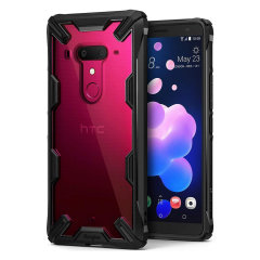 Protect the back and sides your HTC U12 Plus with this incredibly durable and clear backed Fusion Case by Rearth Ringke. With added shock protection, your phone will be protected against drops, bumps and knocks.