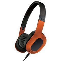 KEF M400 Hi-Fi On-Ear Headphones - Sunset Orange