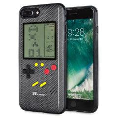 SuperSpot iPhone 7 Plus Retro Game Case - Carbon Black