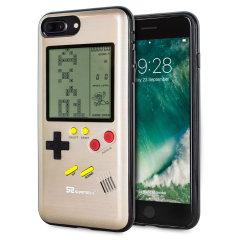 SuperSpot iPhone 7 Plus Retro Game Case - Gold
