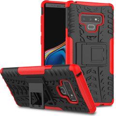 Olixar ArmourDillo Samsung Galaxy Note 9 Hülle in Rot