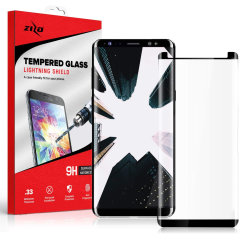 Protect all of your Samsung Galaxy Note 9's beautiful display with the 2 pack of edge to edge tempered glass screen protectors from Zizo. With superb clarity and a durable construction this is the perfect way to keep your screen looking good.