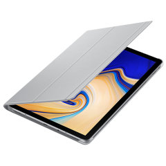 Keep your Samsung Galaxy Tab S4 protected from damage with this official grey Samsung book cover with integrated multi-level stand.