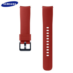 Treat your brand new Samsung Galaxy Watch with the ultra-high quality silicone strap in red. Comfortable, durable and stylish, this 20mm strap is the perfect way to personalise your Samsung Galaxy Watch.