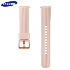 Treat your brand new Samsung Galaxy Watch with the ultra-high quality silicone strap in pink. Comfortable, durable and stylish, this 20mm strap is the perfect way to personalise your Samsung Galaxy Watch.