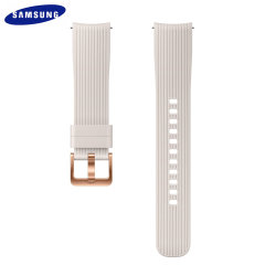 Treat your brand new Samsung Galaxy Watch with the ultra-high quality silicone strap in Silver. Comfortable, durable and stylish, this 20mm strap is the perfect way to personalise your Samsung Galaxy Watch.