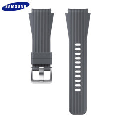 Treat your brand new Samsung Galaxy Watch with the ultra-high quality silicone strap in grey. Comfortable, durable and stylish, this 22mm strap is the perfect way to personalise your Samsung Galaxy Watch.