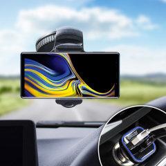 Houd je telefoon veilig in je auto met deze volledig verstelbare DriveTime-autohouder voor je Samsung Galaxy Note 9.
