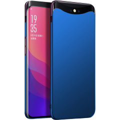 This blue hard shell case for the Oppo Find X offers excellent protection while maintaining your device's sleek, elegant lines. Reinforced corners provide extra shock absorption.