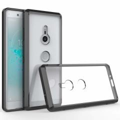 Custom moulded for the Sony Xperia XZ3, this black and clear Olixar ExoShield tough case provides a slim fitting, stylish design and reinforced corner protection against shock damage, keeping your device looking great at all times.