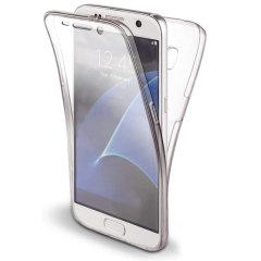 Olixar FlexiCover Full Body Samsung Galaxy S7 Gel Case - Clear