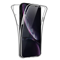 An iPhone XR case that offers 360 degree front, back and sides protection and still allows full use of the phone. The Olixar FlexiCover in crystal clear is the most functional and protective gel case yet.