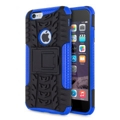 Protect your iPhone 6S / 6 from bumps and scrapes with this blue ArmourDillo case from Olixar. Comprised of an inner TPU case and an outer impact-resistant exoskeleton, with a built-in viewing stand.