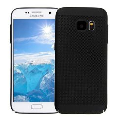 A supremely precision engineered lightweight slimline case in marine black with a perforated mesh pattern that looks great, adds grip and aids heat dissipation from your Galaxy S7, as well as enhance the high performance beauty of the device.