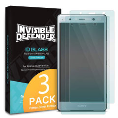 A multi-layered optical enhanced high definition three pack screen protectors for the Sony Xperia XZ2 Premium. Features new 'TouchTech' properties for a natural touch and allows for perfect touch screen precision.