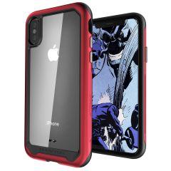 Utrusta din iPhone XS Max med det mest extrema och slitstarka skyddet! Ghostek Atomic ger robust dropp och repskydd samtidigt som telefonen hålls tunn.