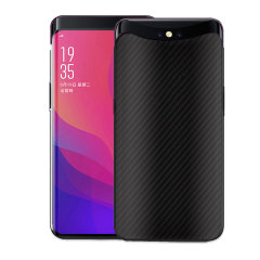 Olixar Carbon Fibre case is a perfect choice for those who need both the looks and protection! A flexible TPU material is paired with an eye-catching carbon print to make sure your Oppo Find X is well-protected and looks good in any situation.