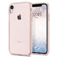 Duurzame en lichtgewicht, de Spigen Liquid Crystal Glitter Case voor de iPhone XR biedt premium bescherming in een slank, vormvast, stijlvol pakket met een sprankelend patroon om de dynamische schoonheid van je telefoon te accentueren.