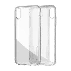 Tech21 Pure Clear Case ermöglicht es Ihnen, die natürliche Schönheit Ihres iPhone XR zur Geltung zu bringen, während es gleichzeitig gut vor Kratzern, Stößen und Stürzen bis zu einer Höhe von 10ft geschützt ist. Außerdem bietet es ein ultradünnes und leichtes Design, das in jeder Umgebung gut aussieht.